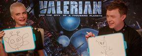 'Valerian y la ciudad de los mil planetas': Ponemos a prueba el conocimiento sobre el espacio de Cara Delevingne y Dane DeHaan