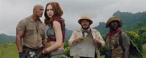'Jumanji: Bienvenidos a la jungla': Los protagonistas descubren sus habilidades en el nuevo tráiler en español