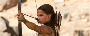 'Tomb Raider': Alicia Vikander, preparada para la aventura en el nuevo póster de la película