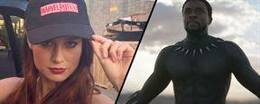Brie Larson ('Captain Marvel') está ayudando a gente sin recursos a poder ver 'Black panther'