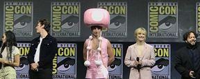 Ezra Miller gana la Comic-Con 2018 al acudir disfrazado de Toadette, el famoso personaje de Nintendo