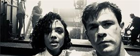 Tessa Thompson y Chris Hemsworth se lo pasan así de bien en el rodaje de 'Men in Black'
