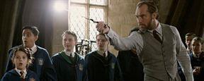 'Animales fantásticos 2': Jude Law practicó con una ramita sus movimientos de varita