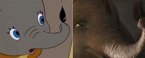 Compara el 'remake' de Disney de 'Dumbo' con la película de animación de 1941