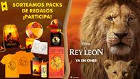 ¡SORTEAMOS 2 PACKS DE REGALOS DE 'EL REY LEÓN'!