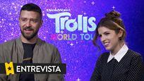 """Justin Timberlake: """"Poppy y Branch aprenden en 'Trolls 2: Gira Mundial' a celebrar lo diferente que puede ser cada uno y lo bonito que es eso"""""""