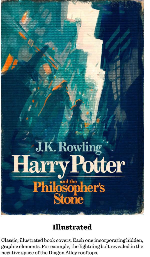 Old Book Cover Posters : Descubre estas maravillosas portadas de harry potter que