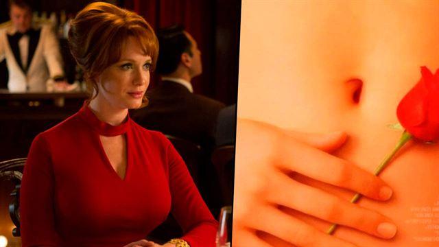 Christina Hendricks revela que la mano del póster de 'American Beauty' es la suya  - Noticias de cine - SensaCine.com