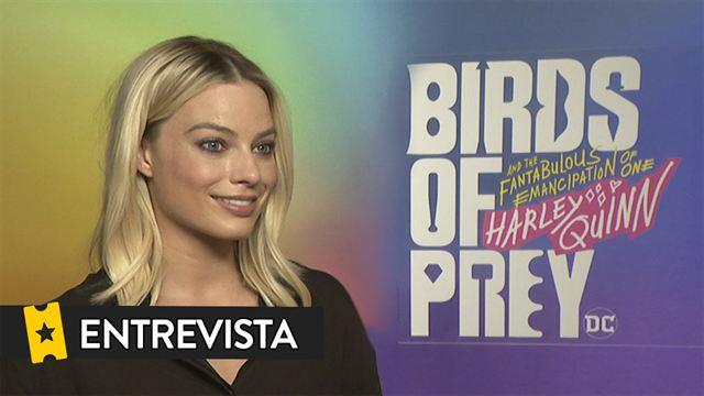 Margot Robbie Mary Elizabeth Winstead Jurnee Smollett-Bell Ella Jay Basco Cathy Yan Interview: Aves de Presa (y la fantabulosa emancipación de Harley Quinn)
