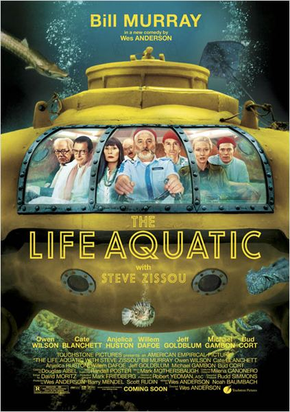 Life Aquatic : foto Wes Anderson