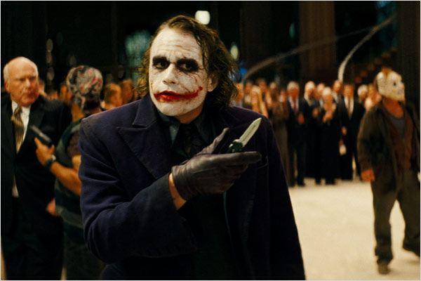 El caballero oscuro : Foto Heath Ledger
