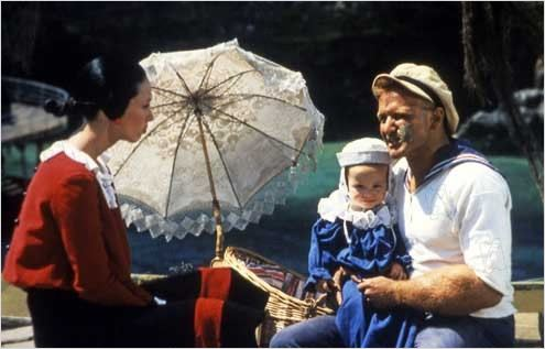 Popeye : foto Robert Altman, Robin Williams