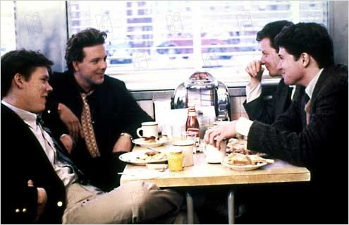 Diner : foto Barry Levinson, Daniel Stern, Kevin Bacon, Mickey Rourke