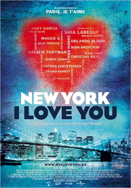 New York I Love You : cartel