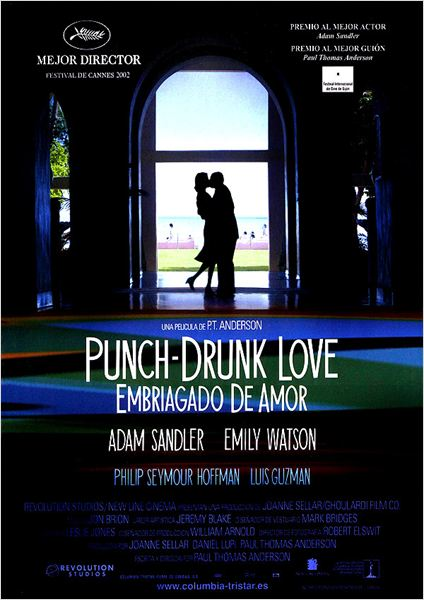 Punch-drunk love (Embriagado de amor) : cartel
