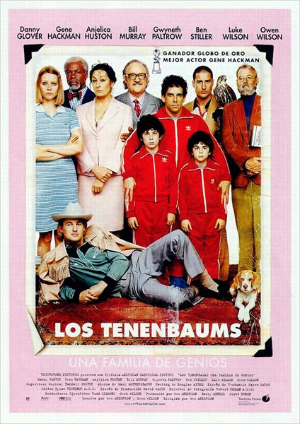 Los Tenenbaums, una familia de genios : cartel
