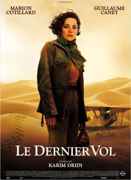 El &#250;ltimo vuelo : cartel Karim Dridi, Marion Cotillard