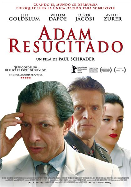 Adam resucitado : cartel