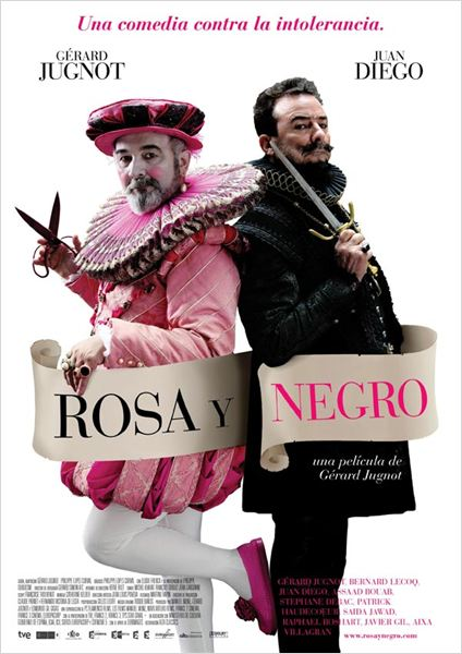 Rosa y negro : cartel