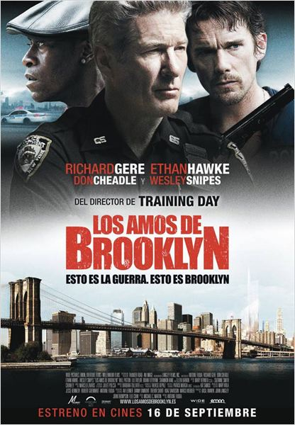 Los amos de Brooklyn : cartel