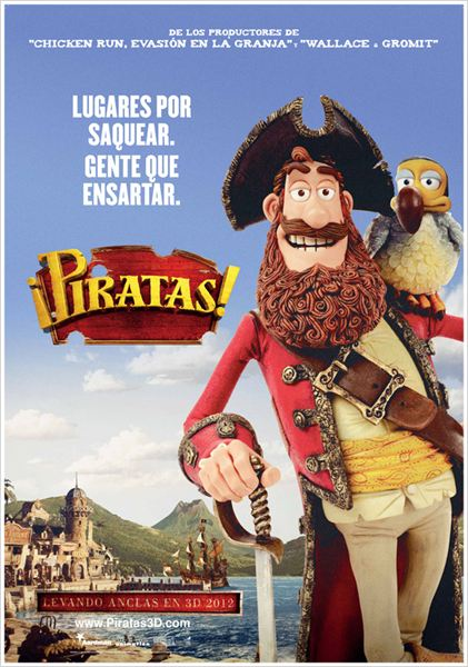 ¡Piratas! : cartel