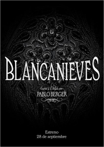 Blancanieves : cartel