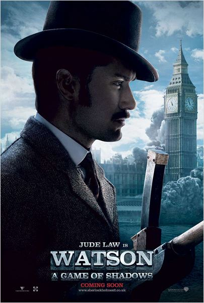 Sherlock Holmes: Juego de sombras : cartel
