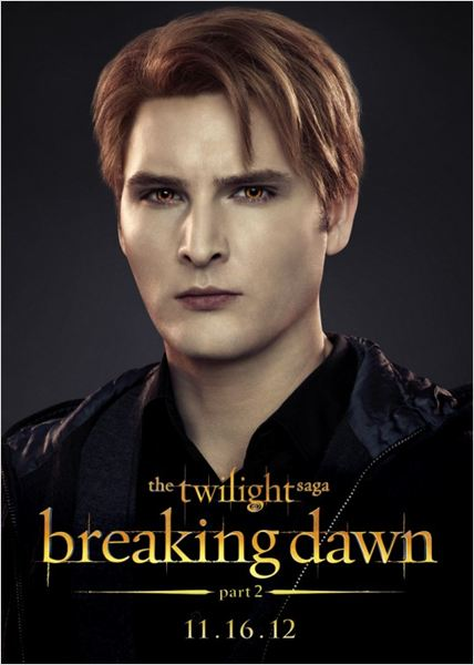 La saga Crep&#250;sculo: Amanecer - Parte 2 : cartel Peter Facinelli