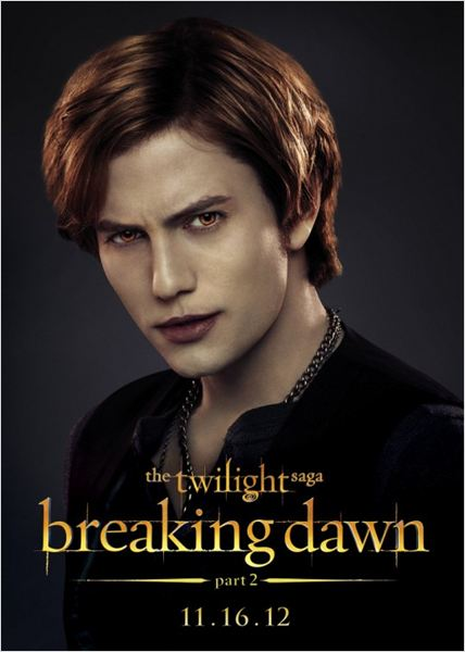 La saga Crep&#250;sculo: Amanecer - Parte 2 : cartel Jackson Rathbone