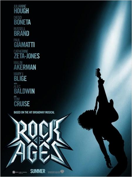 Rock of Ages (La Era del Rock) : cartel