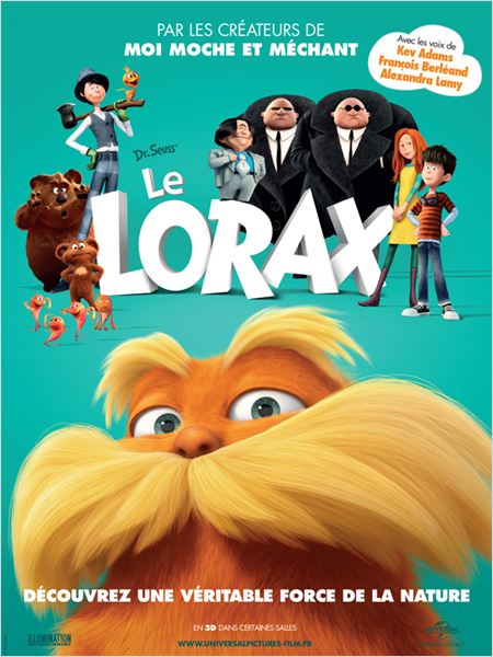 Lorax. En busca de la tr&#250;fula perdida : cartel
