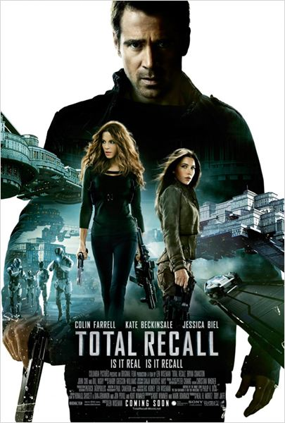 Total Recall (Desafío total) : cartel