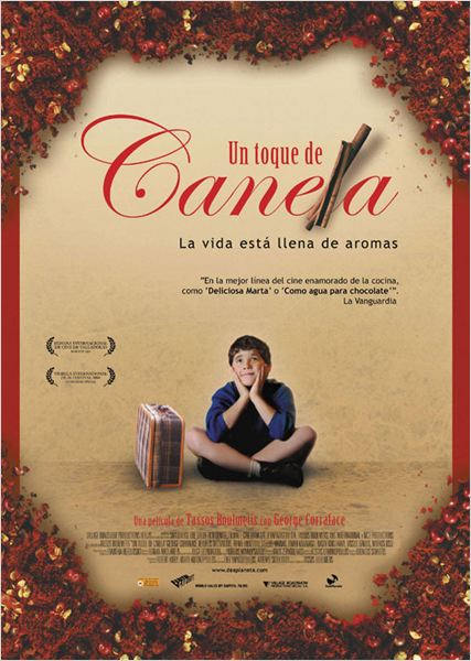 Un toque de canela : cartel