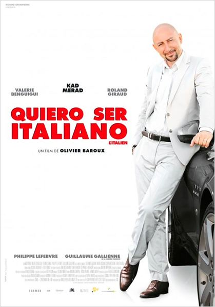 Quiero ser italiano : cartel