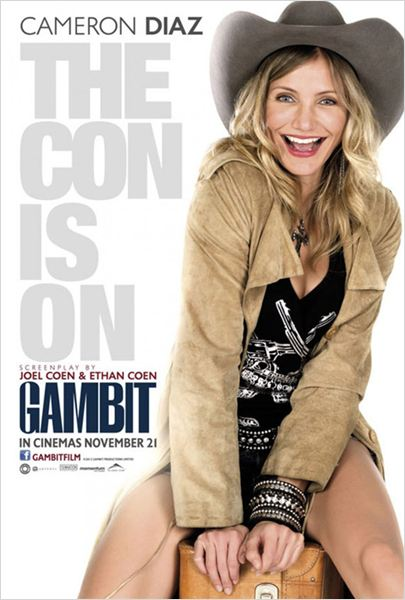 Un plan perfecto (Gambit) : Cartel