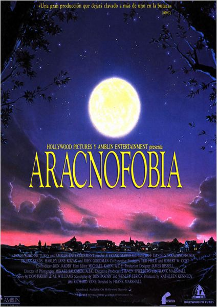 Aracnofobia : cartel