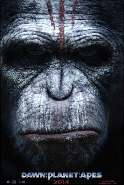 el amanecer del planeta de los simios - Cartel
