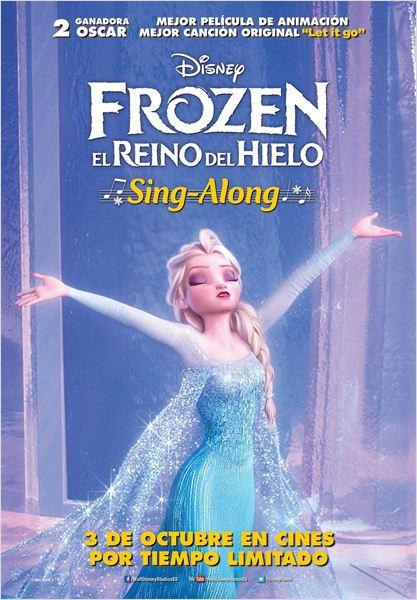 Frozen, el reino del hielo : Cartel