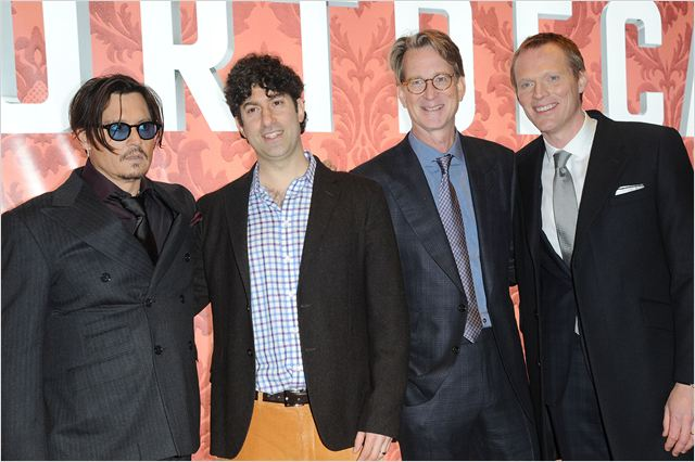 Mortdecai : Couverture magazine David Koepp, Eric Aronson, Johnny Depp, Paul Bettany