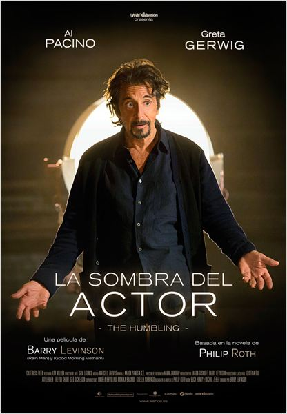La sombra del actor - Cartel
