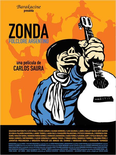 Zonda: Folclore argentino - Cartel