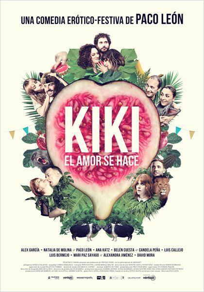 Kiki,el amor se hace - Cartel