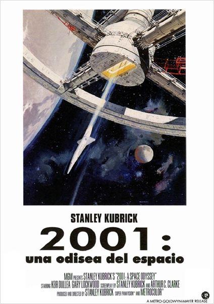 2001: Una odisea en el espacio - Cartel