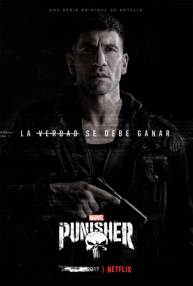 Resultado de imagen para póster oficial en español de The Punisher