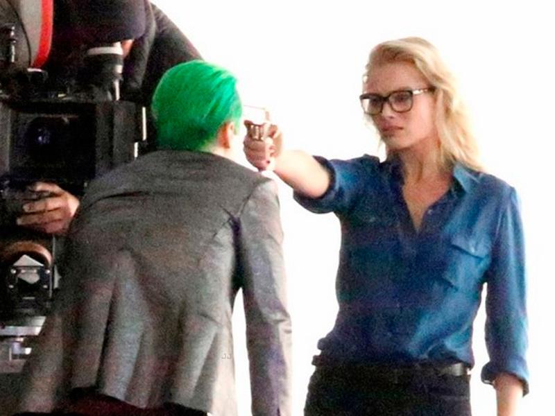 Cara a cara entre El Joker y Harley Quinn