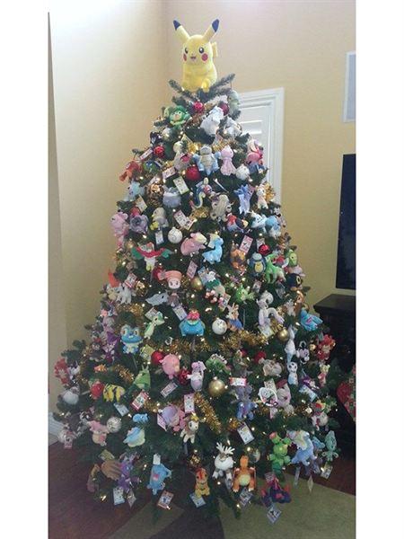 pokemon 10 rboles de navidad muy frikis para cin filos