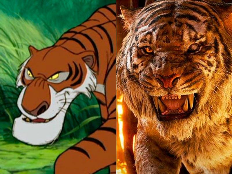Il libro della giungla confronto tra cartone e film