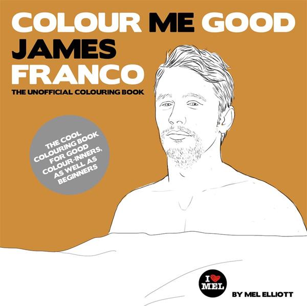 James franco 25 libros para colorear y relajarse para - Libros para relajarse ...
