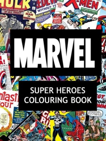Superh roes de marvel 25 libros para colorear y - Libros para relajarse ...