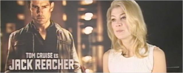 &#39;Jack Reacher&#39;: entrevista a la actriz Rosamund Pike